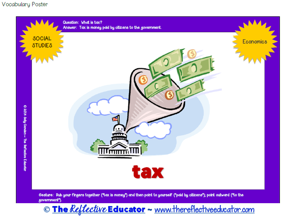 Revenue and Taxes Quick Pack Social Studies