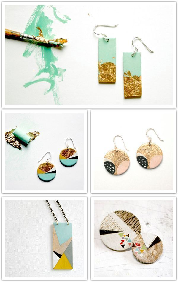 Hand painted over wood by vickygonart at etsy com is part of Jewelry crafts, Diy crafts jewelry, Hand painted jewelry, Diy jewelry, Wood jewellery, Painted jewelry - Please visit our website for more   Jewelry Pin   Hand painted over wood by vickygonart at etsy com