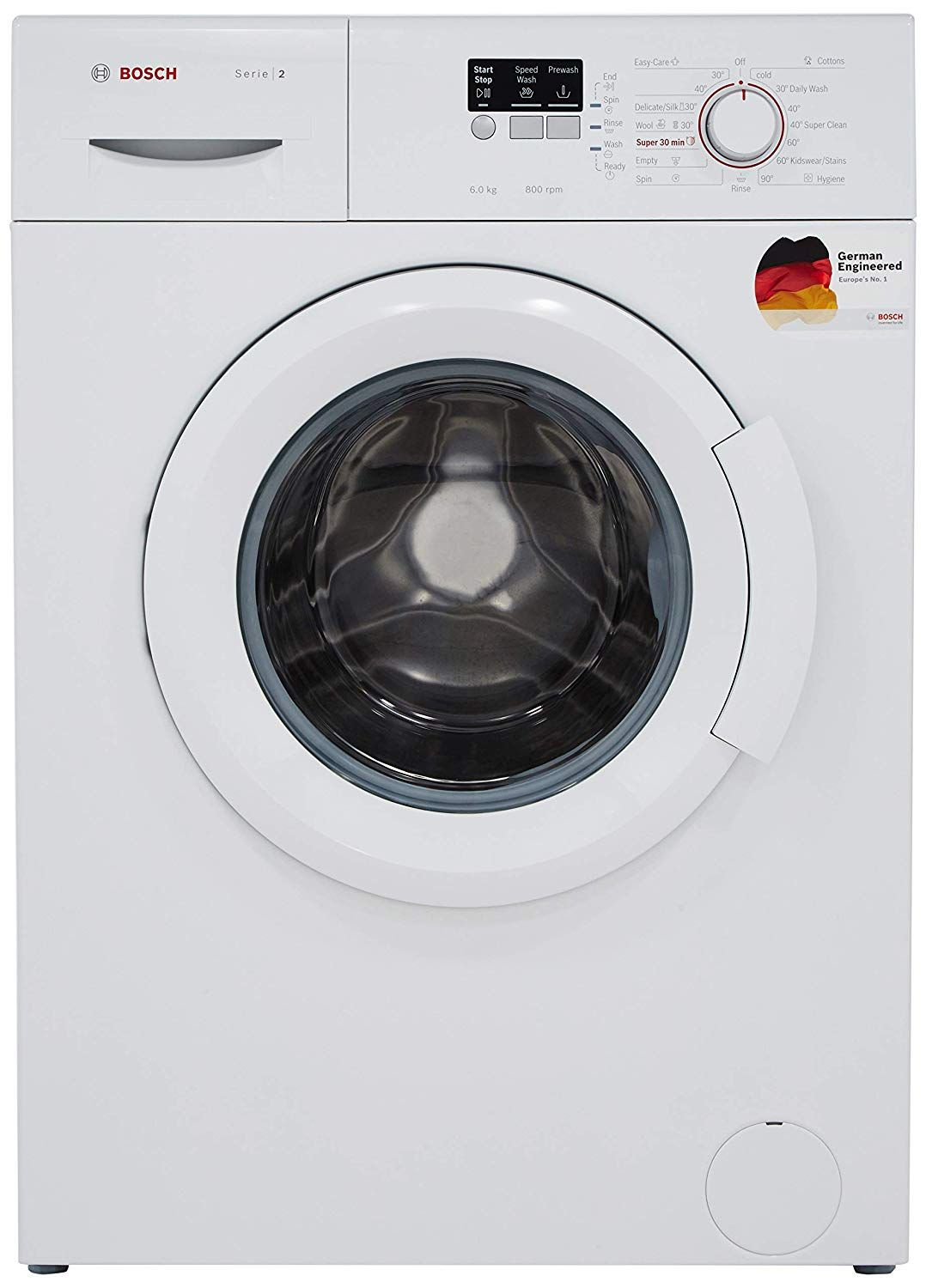 Bosch 6 Kg Fully Automatic Front Loading Washing Machine In 2020 Washing Machine Price Washing Machine Front Loading Washing Machine