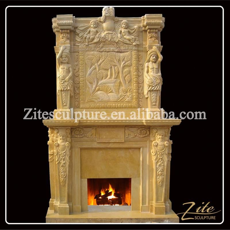 2016 hot sale hand carved antique fireplace mantels fireplaces mantel rh br pinterest com
