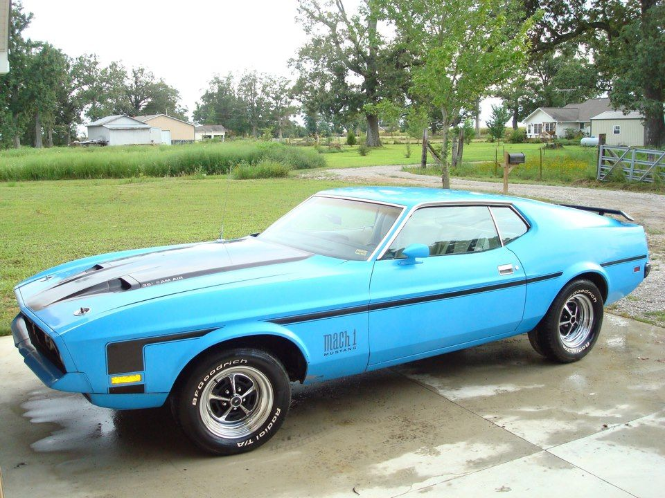 1972 mach 1 mustang 351c great color combination ford mustangs rh pinterest com