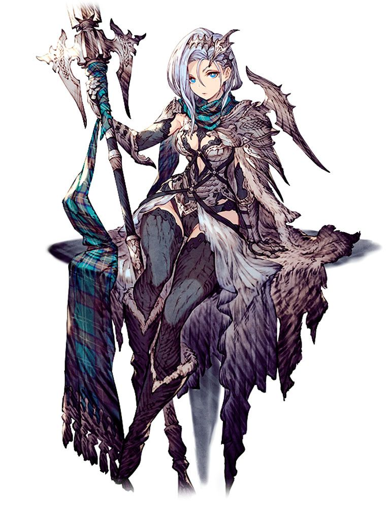 Viktora Character Art From War Of The Visions Final Fantasy Brave