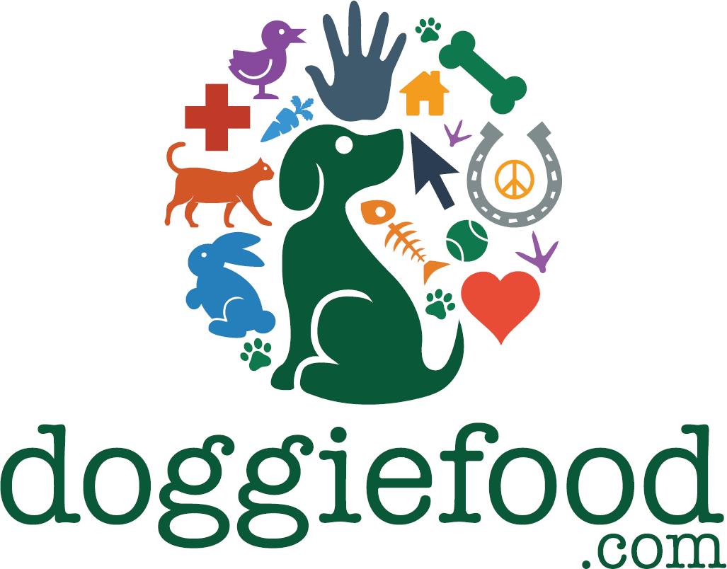 A huge selection of dog foods, including