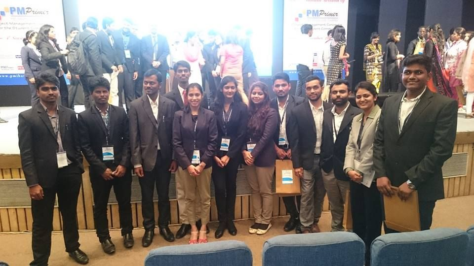 ISME students participated-The PMI Seminar, hosted at NIMHANS Convention Center, Bangalore. www.isme.in