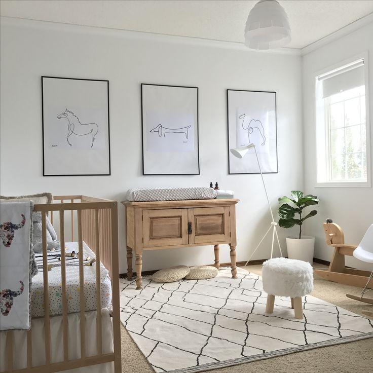 boho scandinavian scandinavian nursery gender neutral nursery baby rh pinterest com