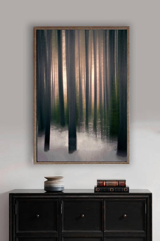 Abstract Tree Art - brown tree wall art 8x10 photo