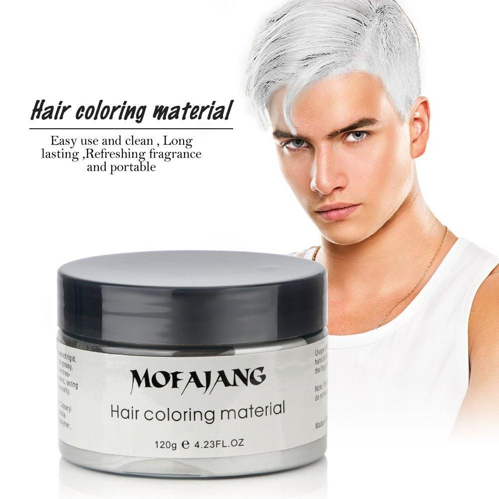 Ivory White Hair Wax By Mofajang Styling Pomades Waxes 120gram Washable Pre Order Only Delivery Time 20 30 Days Hair Wax Hair Color Hair Pomade