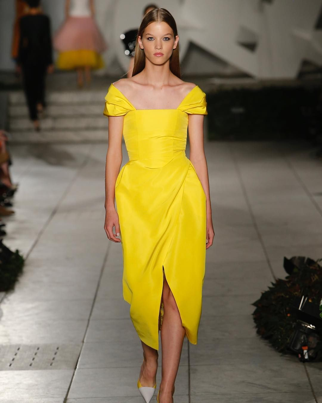 Pin by amy christine lesher on carolina herrera pinterest yellow