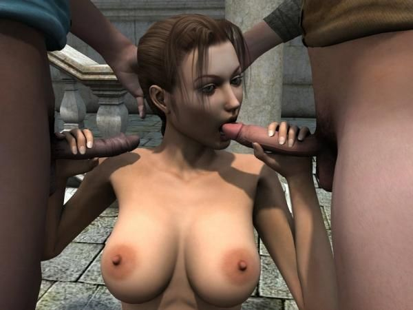Lara croft sex cartoon