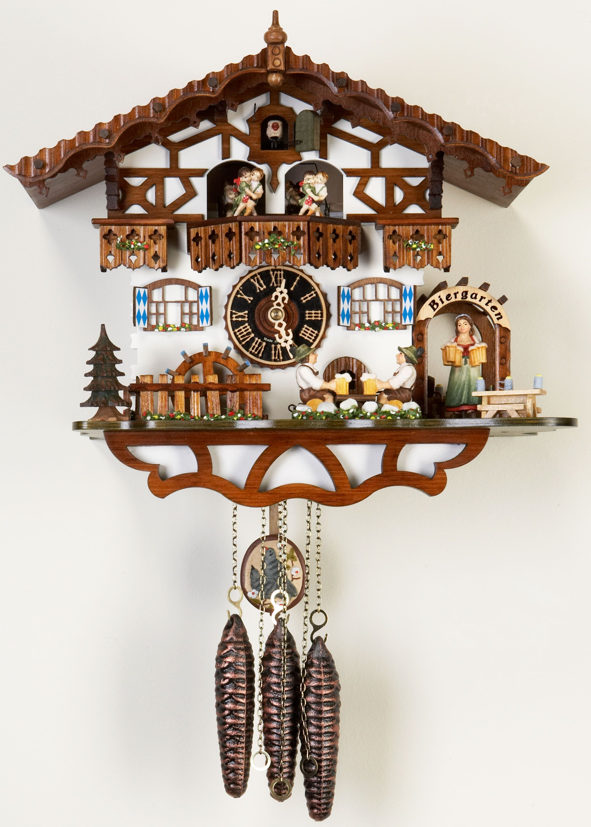 cuckoo clock pictures each hour the number of hours precision brass 1 day weight