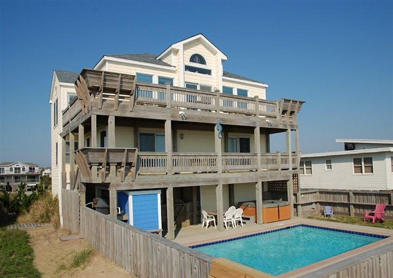 twiddy outer banks vacation home sea horsing around ss rh pinterest com