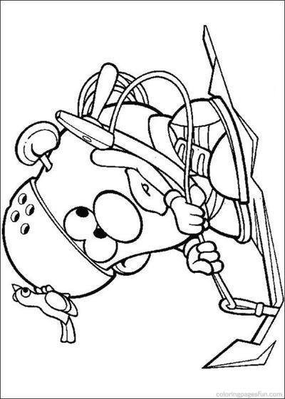 Mr. Potato Head Coloring Pages | pictures to color | Pinterest ...
