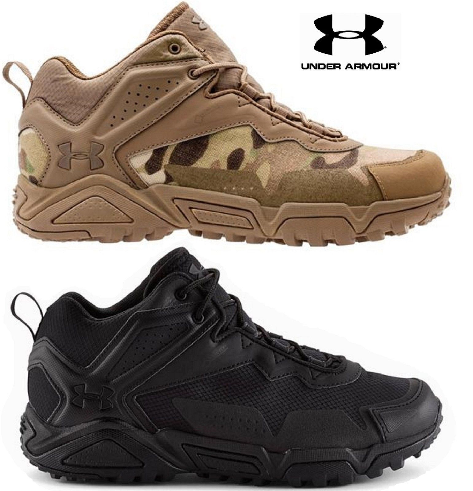 Under Armour Tabor Ridge Low Tactical Boot Mens Ua