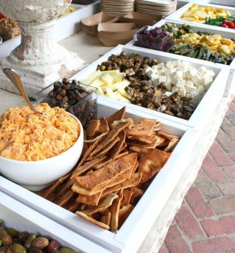 Outside Wedding Food Ideas: 52 Great Outdoor Summer Wedding Ideas