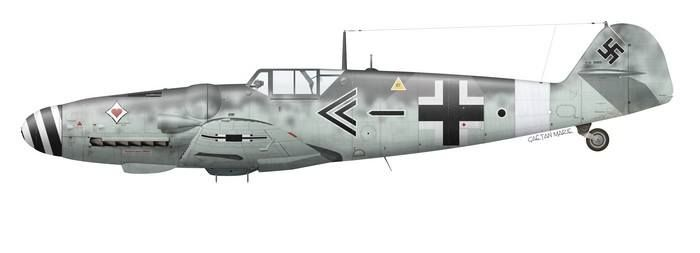 Messerschmtt Me109 of J. Steinhoff.