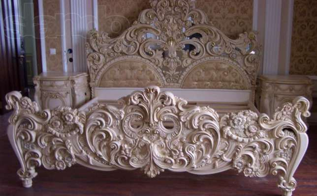 145861943 3 644x461 Krovat Reznaya Mebel Na Zakaz Jpg 644 399 Victorian Furniture Carved Furniture Wood Bedroom Furniture