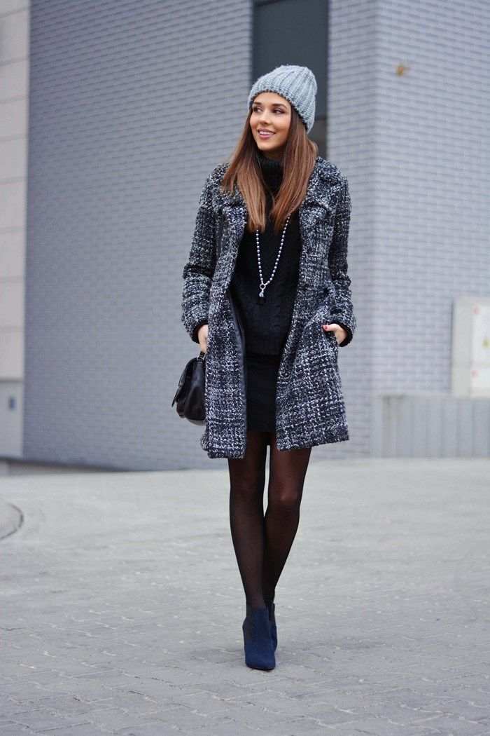 Winter Outfits 2015  Alichja is wearing a coat from Sisley 47c6ba4b8