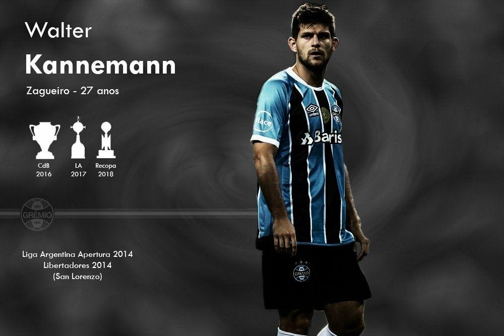 bde667b9534ff Walter Kannemann 🇦🇷 Gremio Fbpa