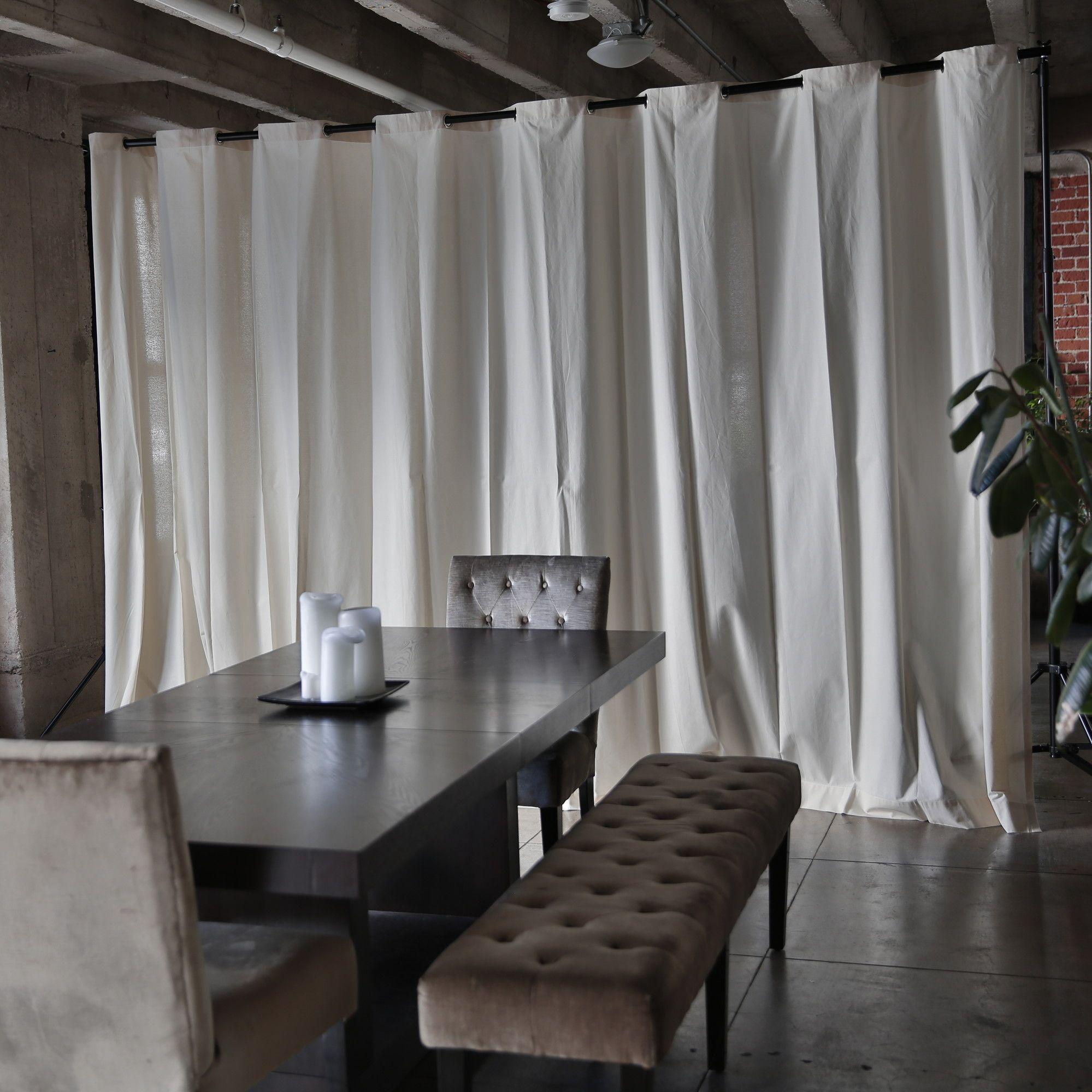 muslin freestanding room divider photography studio pinterest rh pinterest com