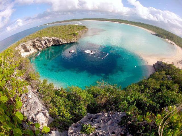 Imágenes De La Naturaleza Para Descargar Y Compartir Fotos O Imágenes Portadas Para Facebook Blue Hole Bahamas Vacation Long Island Bahamas