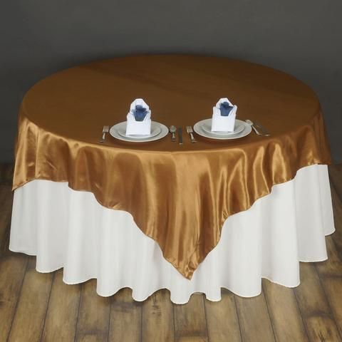 72 x 72 royal blue seamless satin square tablecloth overlay rh pinterest com