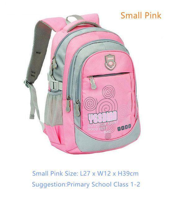 4156d18df6 school bags for boys school backpack bookbag children backpacks blue  waterproof nylon book bag girl schoolbag kids travel bag