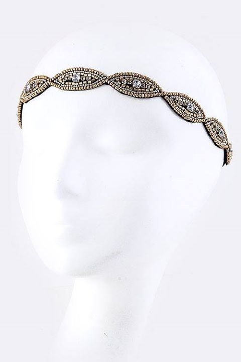 Beautiful headband found only at Beyond the Door in Roscoe, IL @BeyondTheDoor11