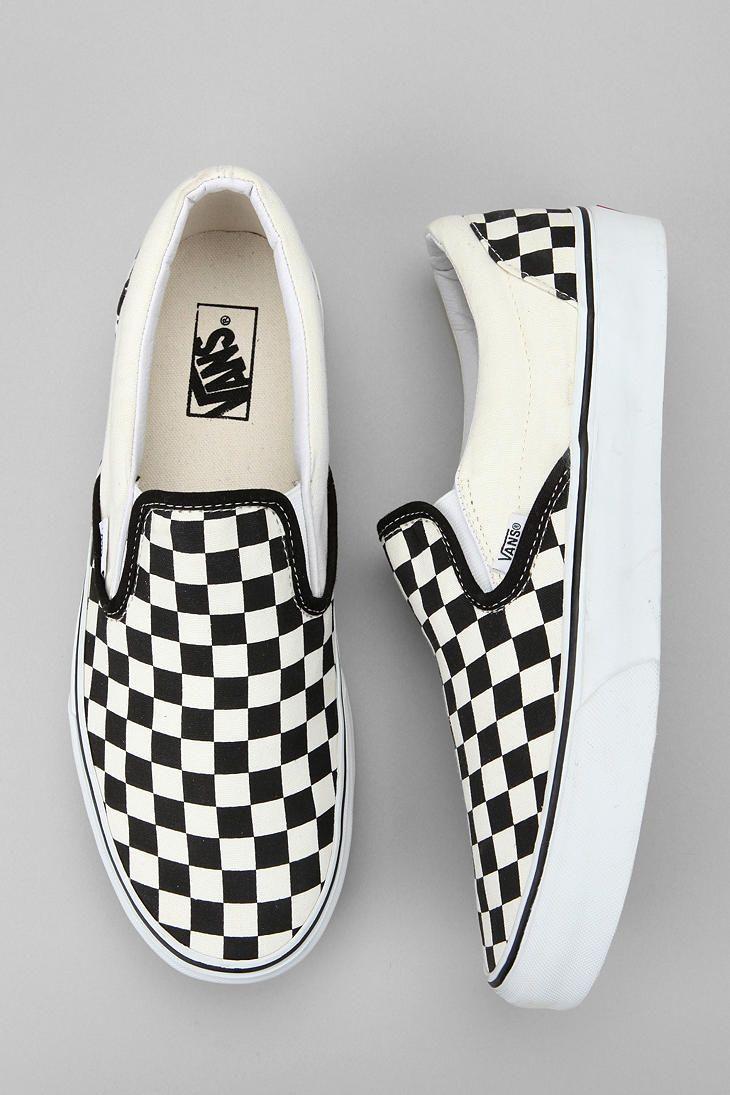 e8506a68388 Vans Checkerboard Slip-On Sneaker