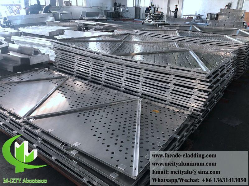 Metal Facades Aluminum Cladding Facades 3mm Thickness Solid Aluminum Panels Aluminium Cladding Metal Facade Facade