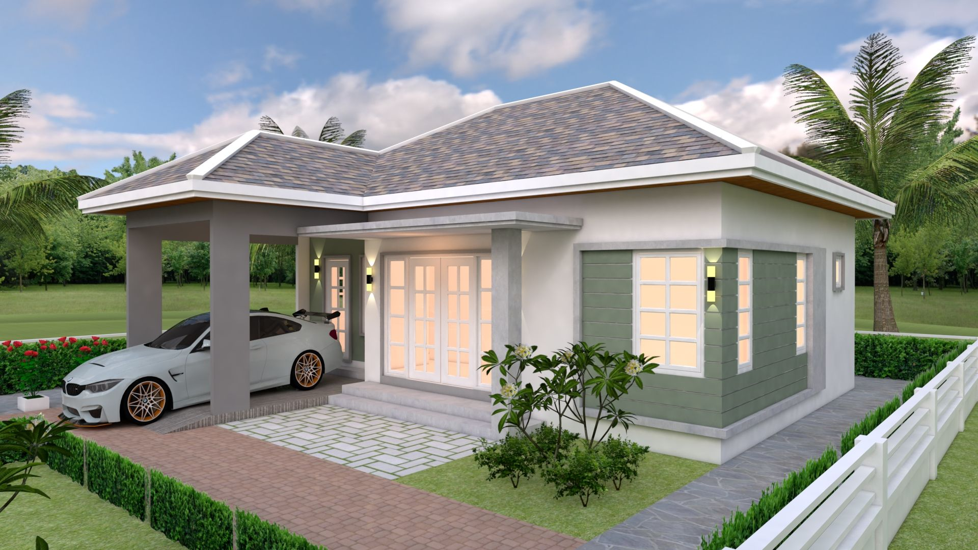 House Plans 10x10 With 3 Bedrooms House Plans S House Plans Small House Design Plans House Design