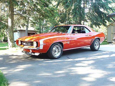 ebay 1969 chevrolet camaro coupe 1969 chevy camaro ss coupe 350 rh pinterest at