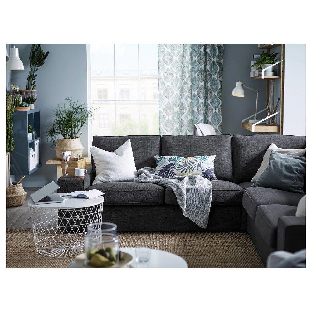 Ikea kivik hillared anthracite | Déco salon, Décoration