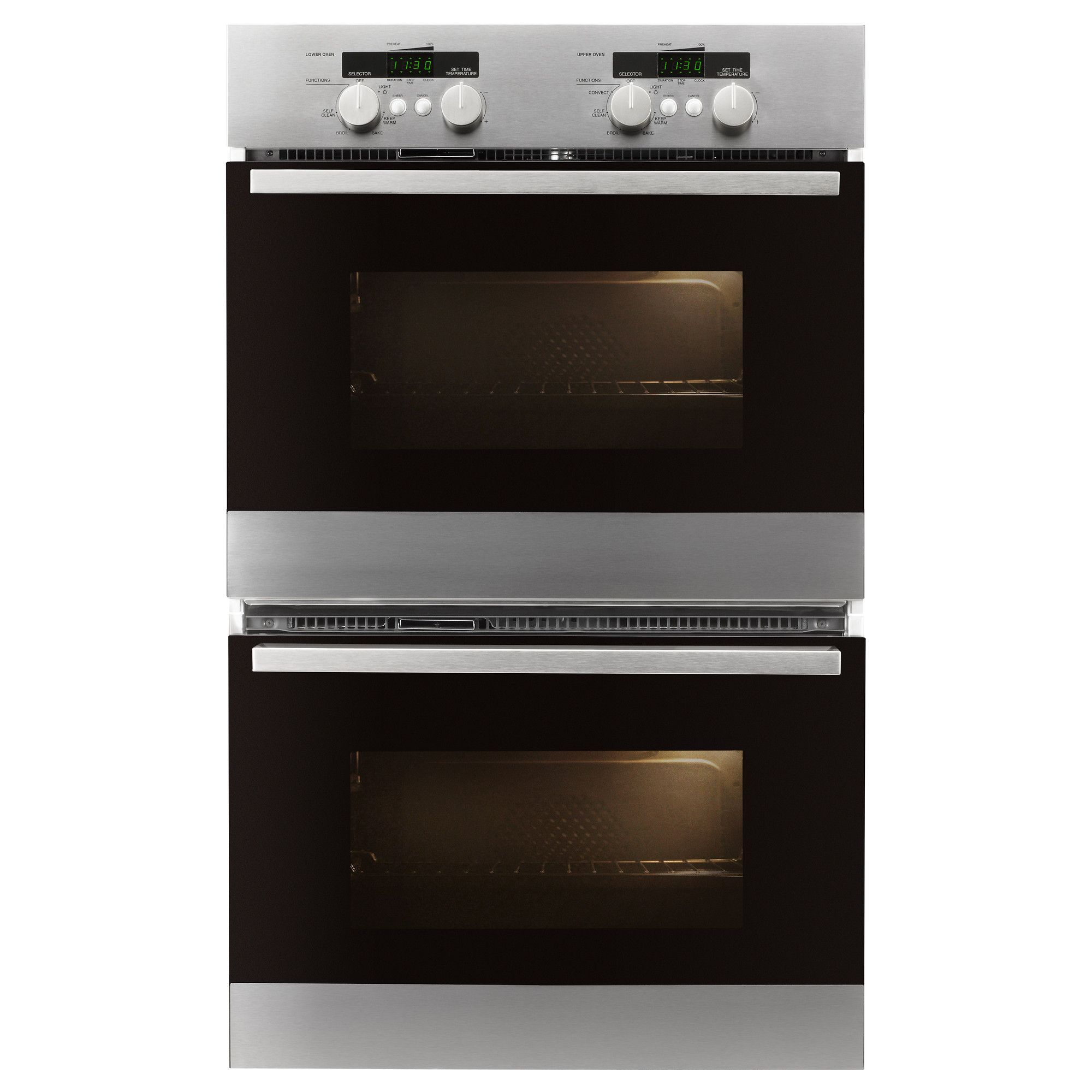 $1,499 FRAMTID Double oven - IKEA. IKEA ovens have lots of cool ...