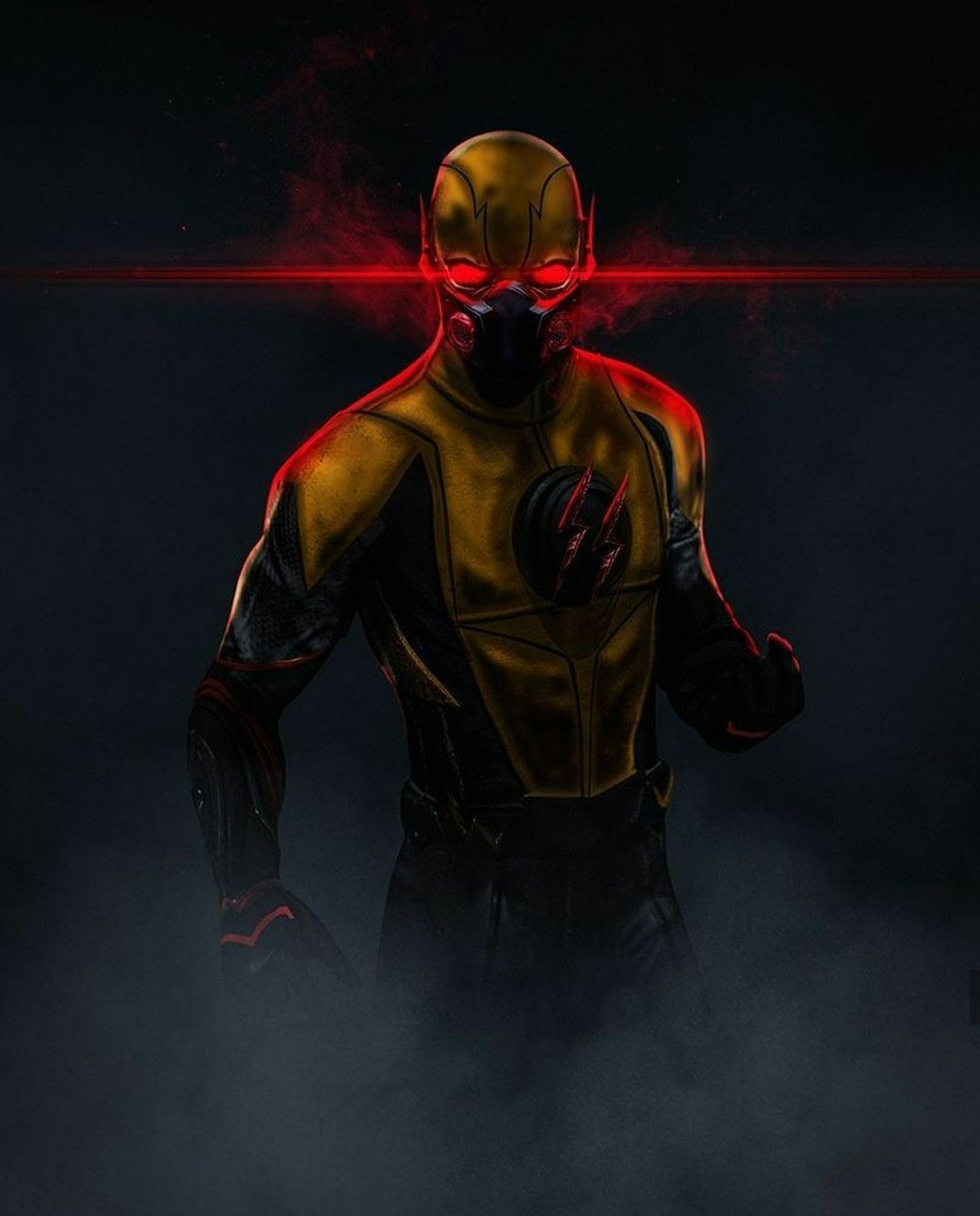 Reverse Flash By Bosslogic Flash Comics Flash Wallpaper Dc Comics Wallpaper