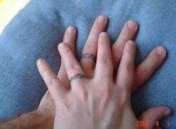 Tattoo Ideas Wedding Ring Finger Tattoos Misc Stuff