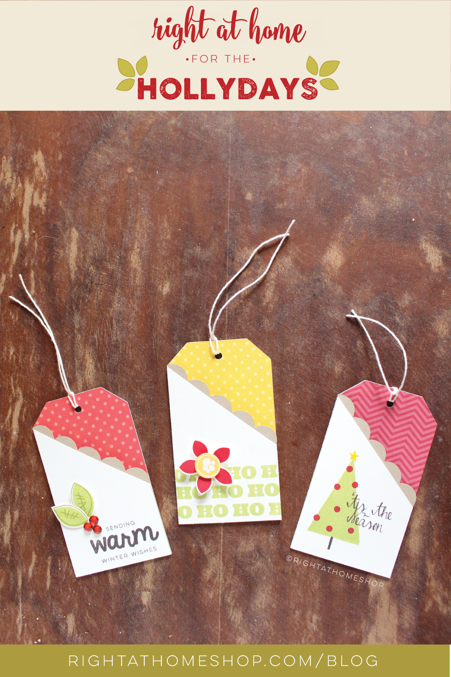 DIY Gift Card Tags Using the Silhouette // Right at Home for the ...