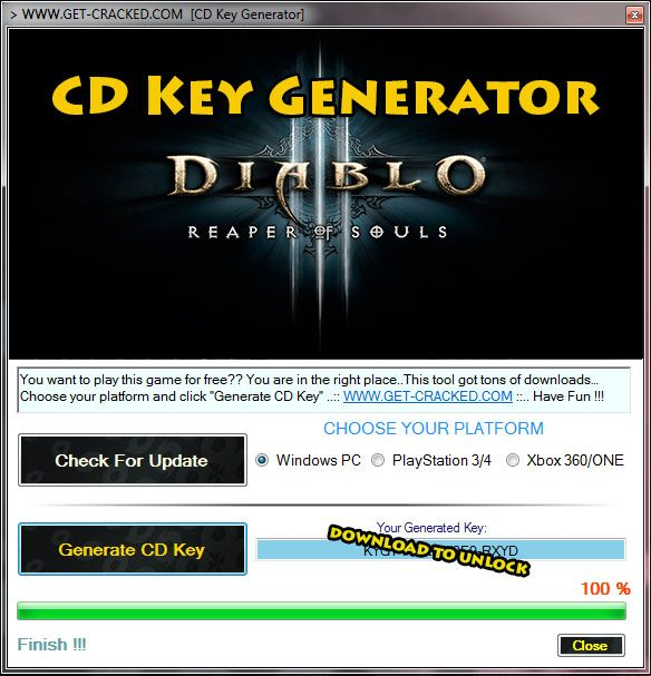 How To Get Diablo 3 Reaper Of Souls Free