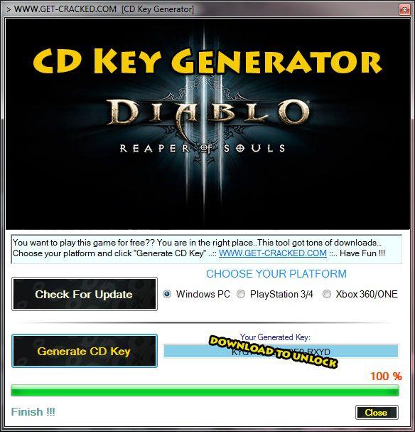 Скачать лицензионный ключ для diablo 3 бесплатно