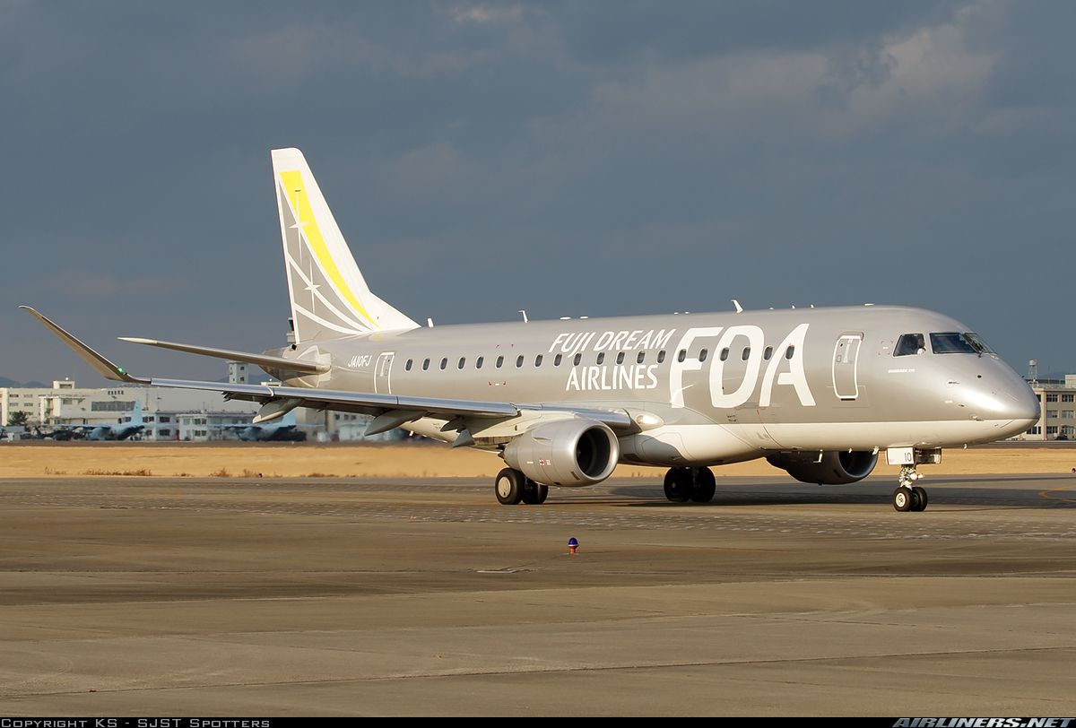 Embraer 175STD (ERJ-170-200STD) - FDA - Fuji Dream Airlines | Aviation Photo #4233137 | Airliners.net
