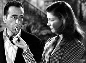 Humphrey Bogart and Lauren Bacall in To Have or Have Not (1944)