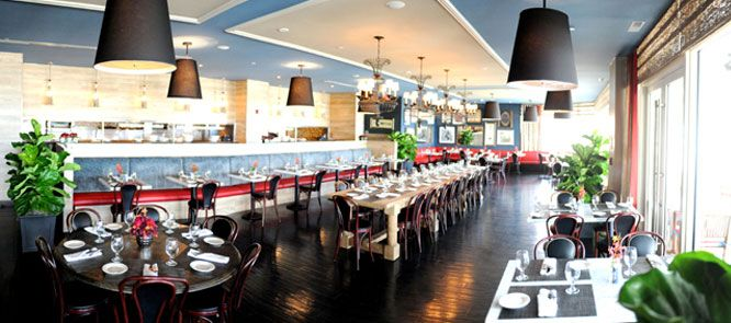 Treat yourself to French-inspired cuisine at East End Brasserie