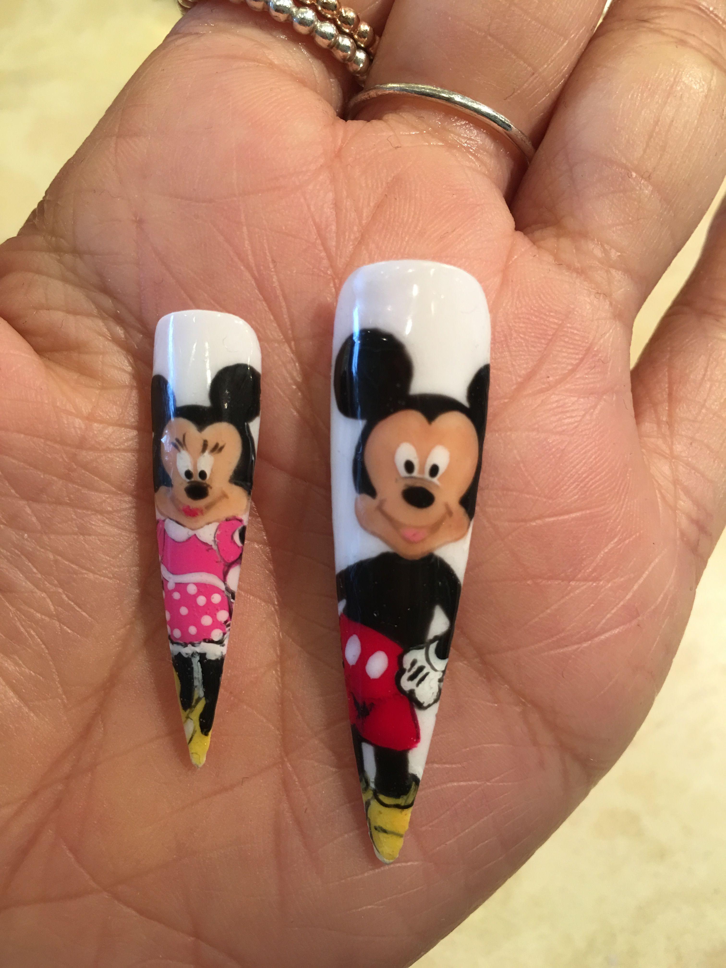 Disney Nail Designs, Disney Nails, Nails Design