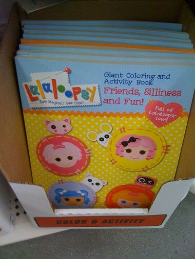 Lalaloopsy Coloring Book Dollar Tree | Coloring Pages