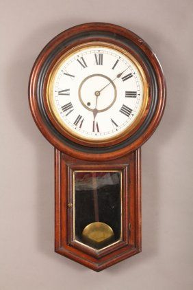 Ansonia Regulator Clock Jun 26 2014 Richard Opfer Auctioneering Inc In Md Clock Antique Wall Clock Ansonia
