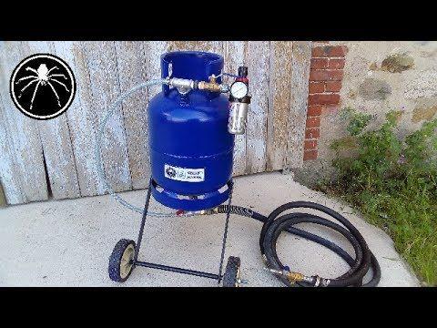 ▻ Fabrication du0027une Sableuse   DIY Sandblaster - YouTube