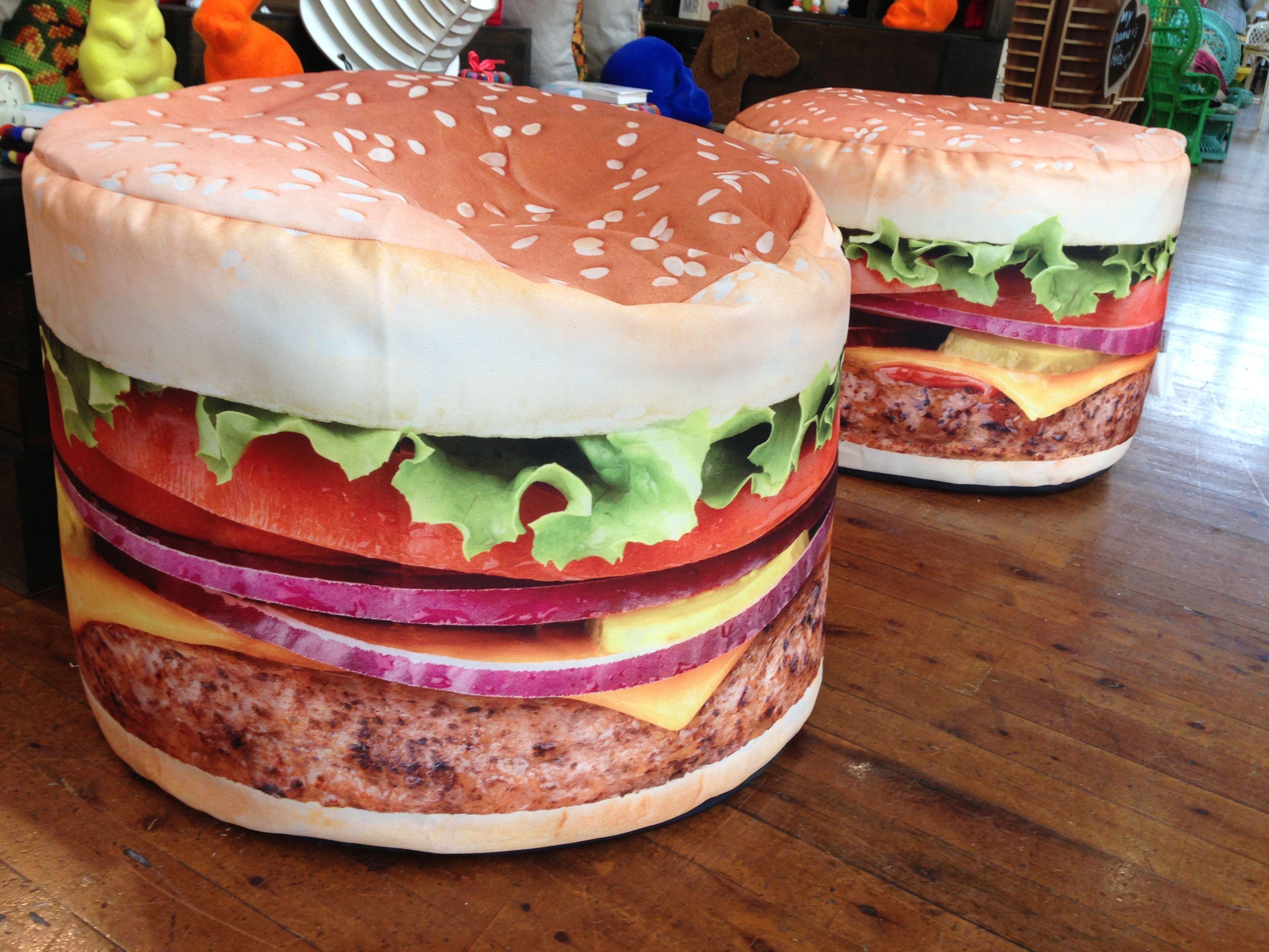 How About A Hamburger Beanbag Www Rawe Au