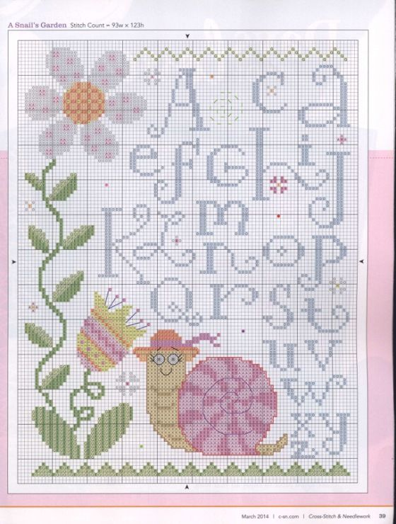 This would make an adorable baby sampler!