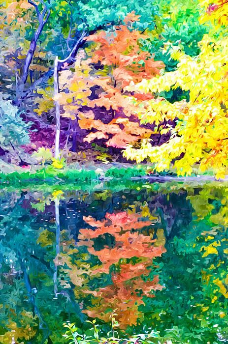 I uploaded new artwork to fineartamerica.com! - 'Autumn With Colorful Foliage And Water Reflection 19' - http://fineartamerica.com/featured/autumn-with-colorful-foliage-and-water-reflection-19-lanjee-chee.html via @fineartamerica