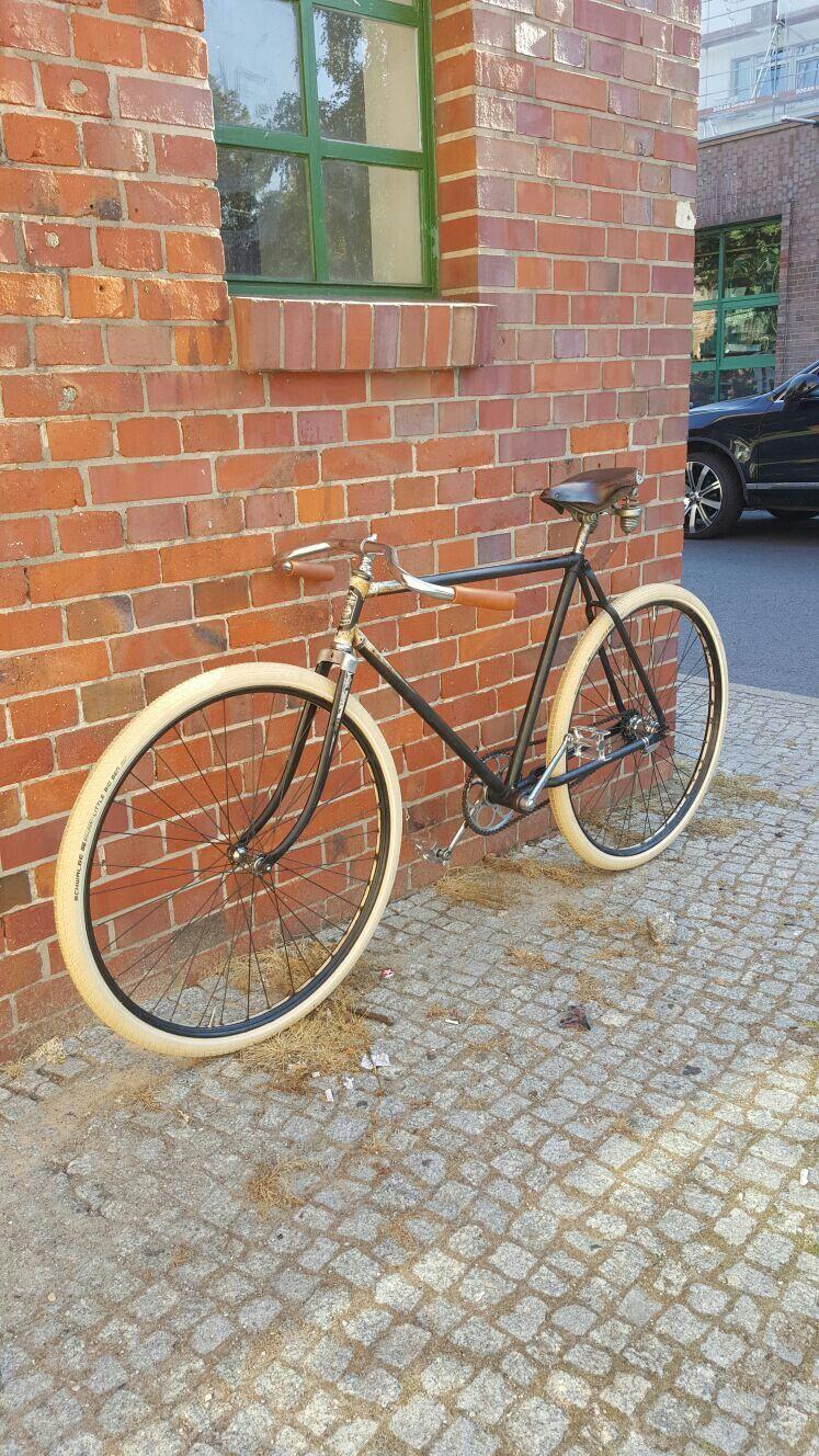 Pathracer Miele Oldtimer Fahrrad Miele Fahrrad Herrenrad Rennrad