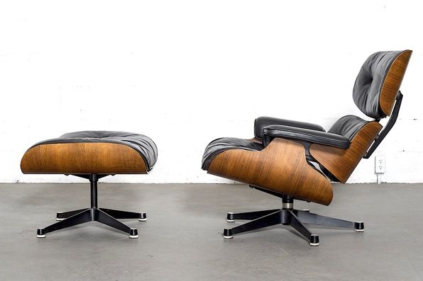 Sensational Rosewood Eames Lounge Chair And Ottoman By Herman Miller Forskolin Free Trial Chair Design Images Forskolin Free Trialorg